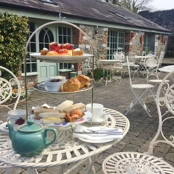 Tea-goers at can choose to dine outside by the fountain on warmer days, in the picturesque surrounds of Tankardstown's Garden village. All dietary requirements can be catered for by our highly skilled chefs.