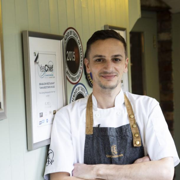 Head Chef Johnny Sarkozi, has received many accolades sure during his time with Brabazon Restaurant thus far. Best Hotel Restaurant in Leinster 2019 (RAI Irish Restaurant Awards), Best Fine Dining Restaurant in Leinster and Best overall Hotel Restaurant of the Year Ireland 2019 (YesChef Awards).