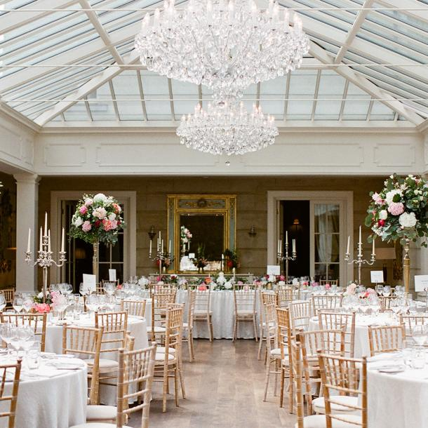 Celebrate with friends and family at Tankardstown House - our orangery has dining for up to 230 guests.