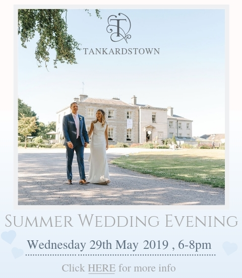 Tankardstown Summer Wedding Evening - 29th May 2019