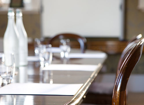 We're very flexible, with meetings from 2-200 clients catered for.